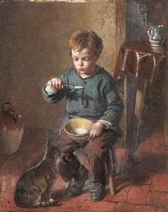 "William Hemsley Porridge"" by William Hemsley - Bonhams. Licensed under Public Domain via Wikimedia Commons"