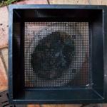První patro kompostéru